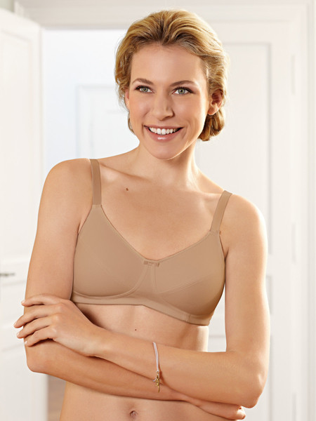 Amoena 2872/2873 Ruth 100% COTTON Soft Mastectomy Bra