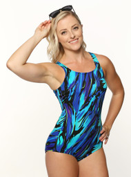 T.H.E. Mastectomy Swim Suit Swimmer's Back 918-60-749