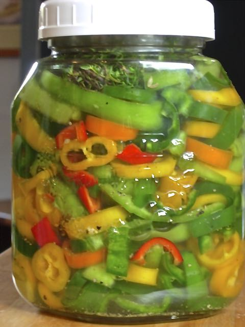 Ring In A Spicy Hot Palette Of Colors That Go With Orange: Greek Pickled Peppers