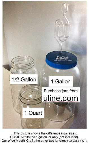 XL Vegetable Fermenting Kit **Includes 1 Gallon jar**