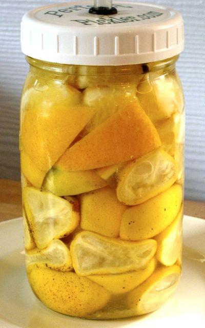 Fermented, Preserved Lemons