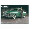 1951 Ford Victoria Postcard (2171)