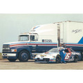 Mark Martin Hauler/Car Postcard (2299)