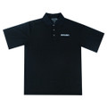 ROUSH Breathable Black Polo (2448)