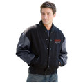 Roush Racing 2-Color Logo Wool/Leather Jacket (2604)