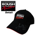 Roush Aviation Signed Black Hat (1259)
