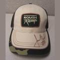Roush Racing Autographed Camo Hat (1267)