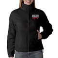 Roush Racing Ladies Black Full Zip Fleece (2933)