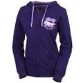 Ford Mustang Ladies Purple Full Zip Hoodie (2975)
