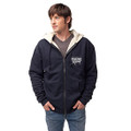 Roush Racing Mens Navy Sherpa Full Zip Hoodie (3008)