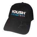 Roush Black Clean Tech Signed Hat (2996)