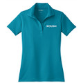 Roush Ladies Teal Breathable Polo (3112)