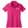 Roush Ladies Pink Breathable Polo (3114)