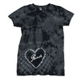 Roush Ladies Black Heart Tee (3123)