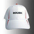 Roush White Moisture Wicking Hat (3194)