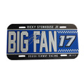 Ricky Stenhouse Jr. Signed Big Fan License Plate (3308)