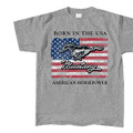 Ford Mustang Born in USA Tee (3343)