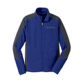 Roush Mens Blue Colorblock Microfleece (3319)