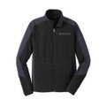 Roush Mens Black Colorblock Microfleece (3321)