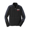 Roush Racing Mens Black Colorblock Microfleece (3324)