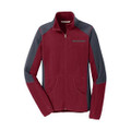 Roush Ladies Red Colorblock Microfleece (3328)