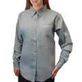Roush Ladies Sage Wrinkle Resistant Long Sleeve Dress Shirt (3503)
