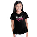 Roush Racing Black Ruffle Youth Tee (3547)