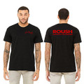Roush Unisex Heather Black Ingenuity Tee (3550)