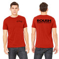 Roush Unisex Dark Red Ingenuity Tee (3553)