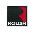 Roush Square R Iron-On Patch (3562)