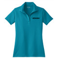 Roush Ladies Teal Breathable Polo #2 (3579)
