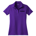 Roush Ladies Purple Breathable Polo #2 (3580)