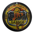 J.R.'s Garage Driver Signed Plastic Sign (3598)