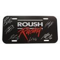 Roush Racing 2018 Driver Signed License Plate (3599)