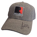 Roush Signed Square R Charcoal Heather Jersey Hat (3609)
