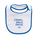 "Ford ""Crawl, Walk, Drive"" Bib (3625)"