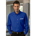 Roush Mens Royal Blue Long Sleeve Dress Shirt (3630)