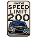 Nascar Speed Limit 200 Sign (3654)