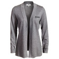 Roush Ladies Heather Gray Cardigan (3649)