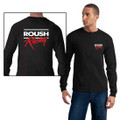 Roush Racing Black 2-Color Long Sleeve Shirt (3694)