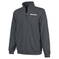 Roush Dark Charcoal Unisex 1/4 Zip Sweatshirt (3729)