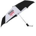 Roush Racing Blk/Wht Automatic Umbrella (3752)