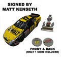 Matt Kenseth 2003 Dewalt Champion 1:24 Die-cast -Signed by Matt Kenseth (Employee Edition) (3816)