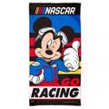 """Nascar Mickey Mouse Go Racing 30"""" x 60"""" Beach Towel (3843)"""