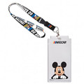 Nascar Mickey Mouse Go Racing Lanyard & Credential Holder (3845)