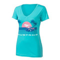 Ford Mustang Ladies Tahitian Tee (3851)