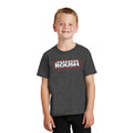 Roush Dark Heather Gray Competition Engine Youth Tee (3854)