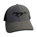 Mustang Gray/Black Hat (3836)