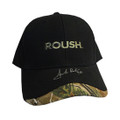Roush Signed Black/Camo Hat (3772)