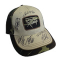Roush Racing 2018 Driver Signed Camo Hat (3878)